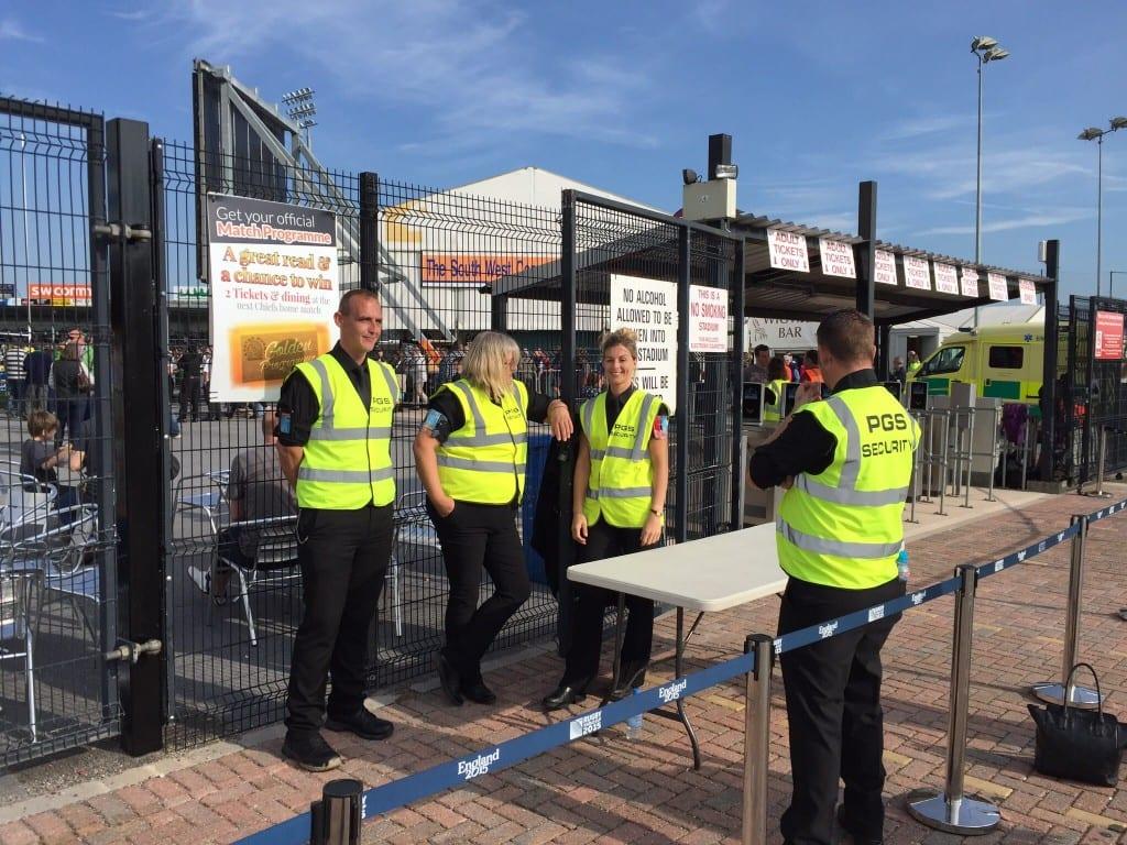 security guards devon