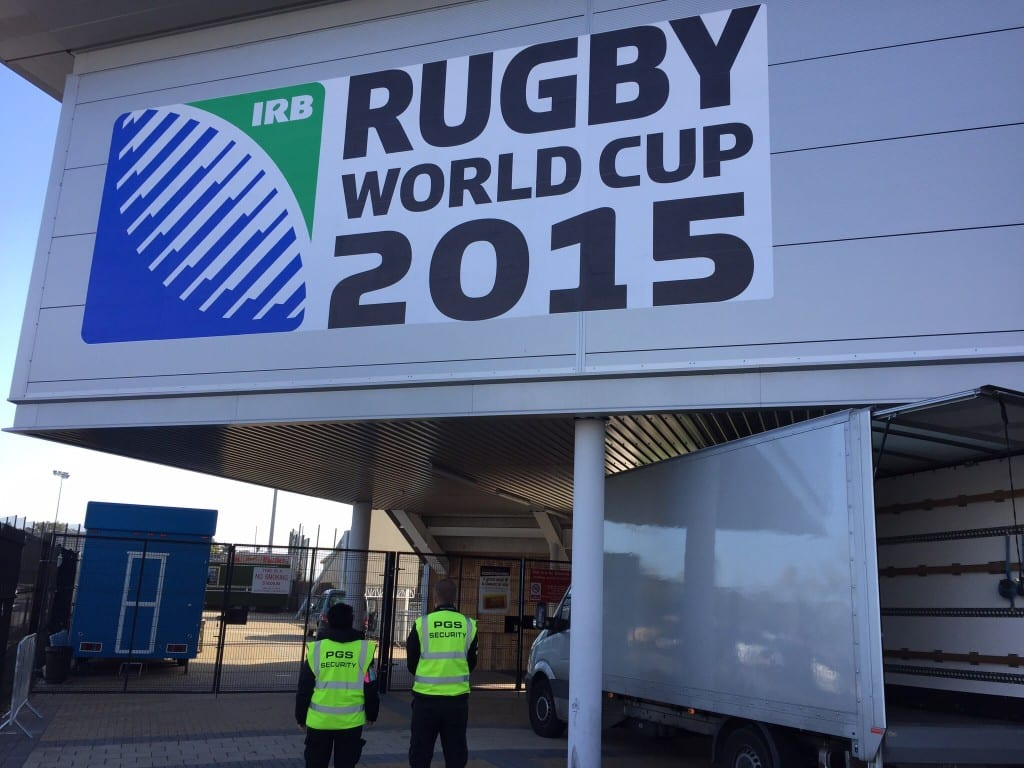 rugby world cup security